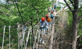 crossing-the-rope-bridge san antonio-tx crossing-the-rope-bridge