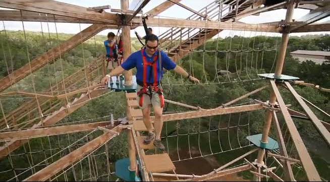 Canopy Challenge At Natural Bridge Caverns Fun Junkie