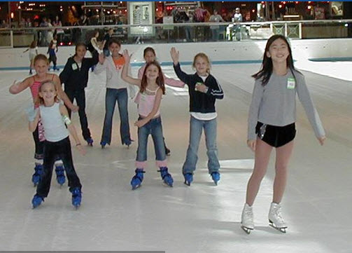 Ice At The Houston Galleria Fun Junkie